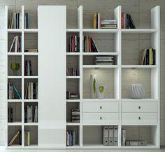 fernseher regal wand wohnwand studio 515 wohnw nde. Black Bedroom Furniture Sets. Home Design Ideas