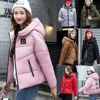 Description Gender: Women Outerwear Type: Down Coat,Parka Clothing Length: Short Closure Type:Zipper