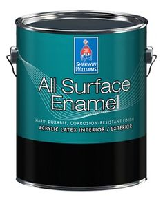 Sherwin Williams All Surface Enamel/great for painting