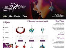 Layout de Site Criado para a Artesã Ignez Mokdessi #criative #site #criacaodesites #joias #agencia #comunicacaovisual www.visiondesign.com.br