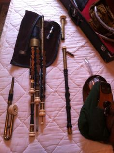 Uilleann Pipes Kevin Thompson Full Set in D | eBay