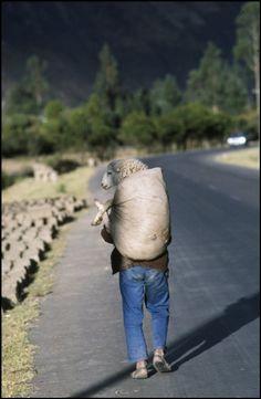© Rene Burri/Magnum Photos Peru. 1982.