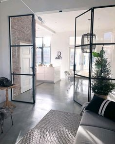 cottages homes interior Modern Interior Design, Interior Design Inspiration, Interior Styling, Flur Design, Open Plan Kitchen Living Room, Deco Design, Interior Exterior, Home Fashion, Home And Living