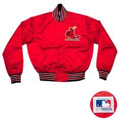 Starter St. Louis Cardinals Jacket Red
