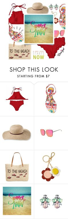 """""""15. Rosegal Island getaway"""" by wannanna ❤ liked on Polyvore featuring Dolce&Gabbana, L.L.Bean, Style & Co., Orla Kiely and Old Navy"""