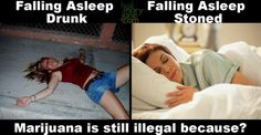 Sleeping Drunk vs Stoned