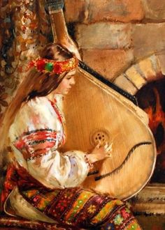 Beautiful painting, Ukraine , from Iryna