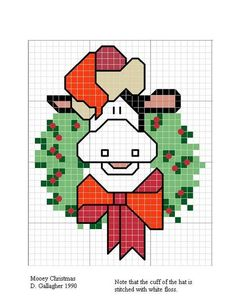 tons of links for free cross stitch charts  http://pinwheelponders.blogspot.com/2009/02/free-christmas-charts.html#charts