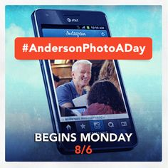 Play the Anderson's Photo-a-Day challenge on Instagram, which begins Monday, August 6th.  Be sure to follow us on Instagram at @AndersonTV. Click for details on how to participate:  http://www.andersoncooper.com/page/photo-a-day/    #picture #AndersonLive #AndersonCooper #contest #photoaday #TV #television #instagram #instagramers #igers
