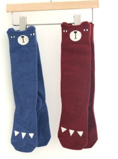 Bear Knee Socks