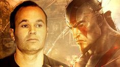 Andrés Iniesta y Kratos se alían en 'God of War: Ascension'