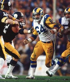 "Jack ""Hacksaw"" Reynolds - Los Angeles Rams, former Tennessee Vol; Western Hills High School."