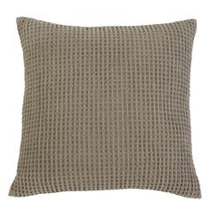 Signature Design by Ashley Patterned Brown Pillow Cover (Pillow cover), Size 20 x 20 (Linen, Solid Color)
