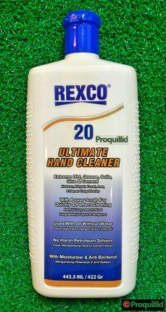Ultimate Hand Cleaner 20 443.5 ML / 422 Gr - REXCO (Untuk Kotoran, Minyak, Tanah, Lem, dan Semen yang ekstrim) #Proquillid #REXCO #REXCO20 #HandCleaner #LTC #Glodok #Jakarta #Indonesia