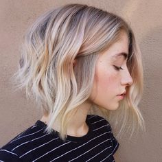 We love a good color, cut and style combo and this soft, yet edgy blonde blend from Maggie Hancock (@maggiemh), an independent hair artist based in Scottsdale, Ariz., is borderline perfection. The textured cut paired with a rich shade of blonde (and barely-there pink tone!) is simply stunning and we got every little detail. Get the … Continued