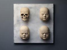"Saatchi+Online+Artist+Andrew+Barton;+Sculpture,+""A+Perfect+Cast+II""+#art"