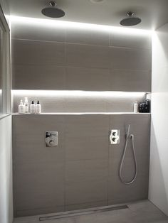 Consider buying a bathroom vanity with a leading currently. Not exactly sure . Attic Bathroom, Bathroom Spa, Simple Bathroom, Modern Bathroom, Master Bathroom, Bathroom Lighting, Attic Renovation, Attic Remodel, Bad Inspiration