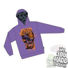 Madd Gear MGP Bonehead Black Hoody **SALE 50/% OFF**