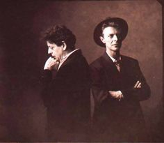 David Bowie & Philip Glass.