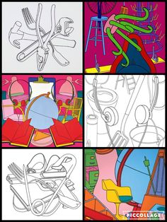 Type Illustration, Illustrations, Michael Craig, Observational Drawing, Still Life Drawing, Identity Art, Gcse Art, Differentiation, Everyday Objects