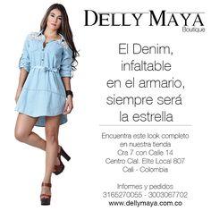 Encuentra este look completo en nuestra tienda Delly Maya Boutique Cra 7 con Calle 14 Centro Cial. Elite Local 807 Cali - Colombia  Informes y pedidos 3165270055 - 3003067702