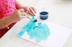 Toddler Play Ideas - Colorful Salt