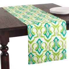 Contemporary Elegance Design Printed Cotton Table Runners Home Decor (Set of 4) #TableRunner #Cotton #Contemporary #TableTopper #TableLinens #Elegance #Kitchen #Decor #Seasonal #HomeDecor #HolidayDecor #KitchenDecor #Setof4