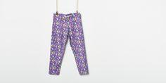 Legging estampado con flores. Elástico en cintura.   Niños & Bebés,Niña 2-14 años,Leggings 028-058573208285