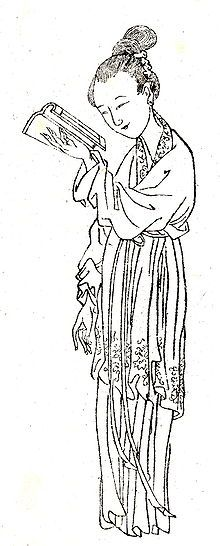 Ban Zhao was the first known female Chinese historian. She completed her brother Ban Gu's work on the history of the Western Han, the Book of Han. She also wrote Lessons for Women, an influential work advising women to be submissive. She also had great interest in astronomy and mathematics and wrote poems, commemorative writings, argumentations, commentaries, essays and several longer works, not all of which survive. She became China's most famous female scholar.