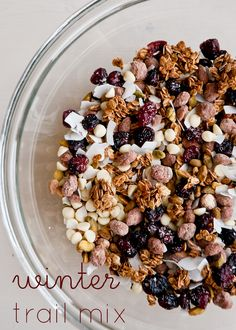 Cafe Johnsonia: Winter Trail Mix from @Lindsey Grande Johnson // Cafe Johnsonia