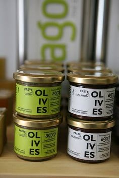 All about olive oil & olives www.agorafinefoods.com  Organic pastes from Kalamata and Green Olives Olives, Coffee Cans, Olive Oil, Coconut Oil, Organic, Canning, Green, Food, Home Canning