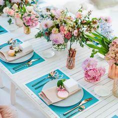 ideas brunch wedding shower ideas centerpieces for 2019 Brunch Decor, Brunch Party, Brunch Wedding, Wedding Table, Tea Party, Summer Wedding, Wedding Ideas, Brunch Table Setting, Trendy Wedding