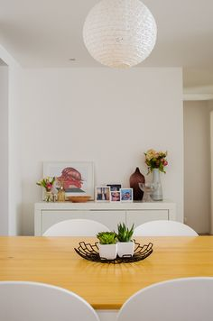 Como decorar a mesa de jantar?