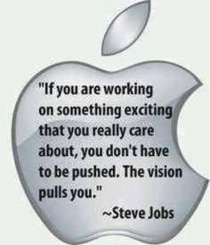 Motivate Yourself By Yourself: Steve Jobs Quote