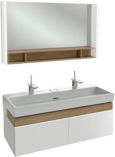 meuble double vasque Jacob Delafon