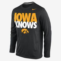 Iowa DriFit Baseball Legend T-Shirt 2013 :: Just Arrived :: Herky\'s ...