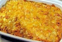 Dorito casserole... EVERYONE loves this and we hardly ever have leftovers