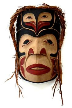 Chief with Owl Frontlet Mask    Artist:Darcy Day