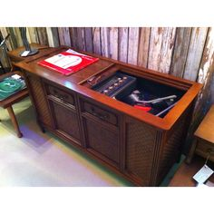 "Magnavox Console Stereo with ""Astro Sonic"" sound"