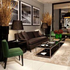 Ambientes sofisticados com estilo contemporâneo e clássico decorados por Christina Hamoui! - Decor Salteado - Blog de Decoração e Arquitetura