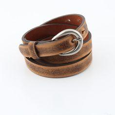 Luna Belt (BLT14 L) Tan Belt, Brown Belt, Skinny Belt, Leather Fashion, Tan Leather, Belts, Fashion Jewelry, Bangles, Bracelets
