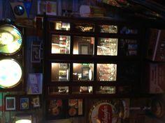 Garage bar cabinet