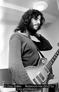 classic foto of peter green