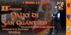2° PALIO DI SAN GUANTINO – IGLESIAS- SABATO 5 OTTOBRE 2013