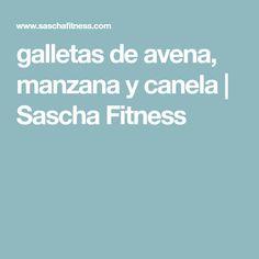 galletas de avena, manzana y canela   Sascha Fitness