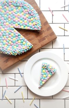 Birthday cookie cake (for if & when she keeps asking for them for her school b-day parties...) | Chasing Delicious