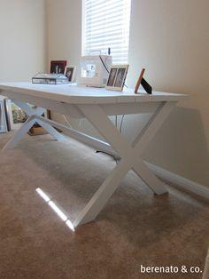 DIY table - so nice too!