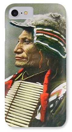 Chief Broken Arm IPhone 7 Case featuring the photograph Chief Broken Arm by The Griffin Passant