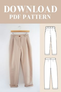 Dress Sewing Patterns, Sewing Patterns Free, Sewing Tutorials, Clothing Patterns, Pattern Drafting Tutorials, Diy Sewing Projects, Fashion Sewing, Diy Fashion, Ideias Fashion