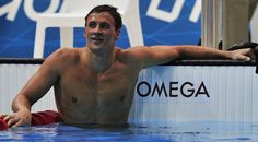 Image detail for -Ryan Lochte of the U.S. smiles after winning gold in the men's 400m individual medley final at the London 2012 Olympic Games at the Aquatics Centre July 28, 2012. REUTERS/Toby Melville (BRITAIN - Tags: